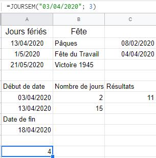 calcul jours de congés payés
